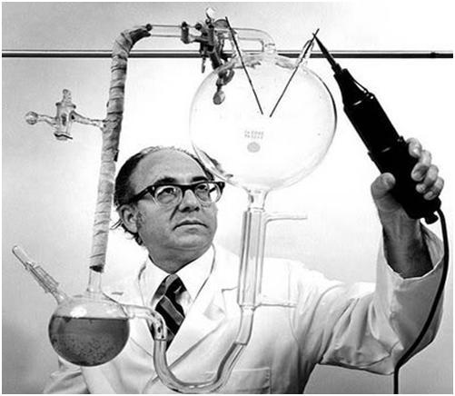 Stainley Miller dengan Perangkat Percobaannya